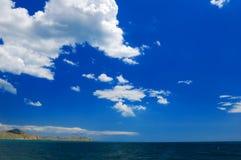 Mar & céu Fotografia de Stock
