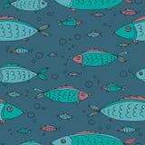 Mar animals-10 ilustração stock