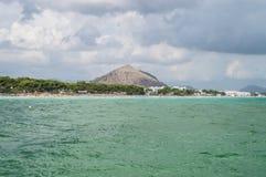 Mar antes da tempestade Fotos de Stock Royalty Free
