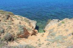 Mar apacible de la mañana Imagenes de archivo