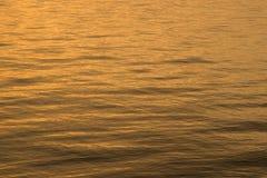 Mar apacible de la madrugada Imágenes de archivo libres de regalías