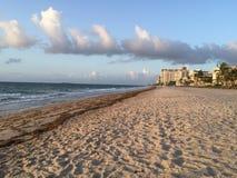 Mar, arena, escena Fotos de archivo libres de regalías