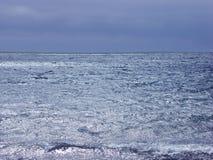 Mar azul Foto de Stock Royalty Free