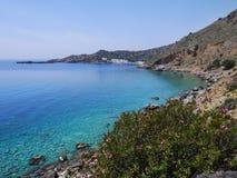 Mar azul Fotos de Stock