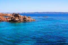 Mar azul foto de archivo libre de regalías