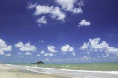 Mar azul Fotografía de archivo
