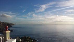 Mar azul Imágenes de archivo libres de regalías