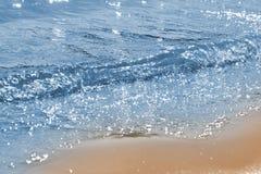 Mar azul Imagens de Stock