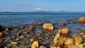 Mar azul Imagenes de archivo