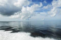 Mar azul Foto de Stock