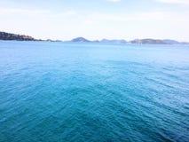 Mar azul Fotografia de Stock