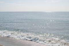 Mar azul calmo Imagem de Stock Royalty Free