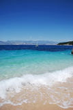 Mar azul (Corfu) Imagem de Stock Royalty Free