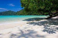 Mar azul em Tailândia Kho Surin Imagem de Stock Royalty Free