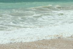 Mar azul - praia Foto de Stock Royalty Free