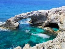 Mar azul profundo Imagem de Stock
