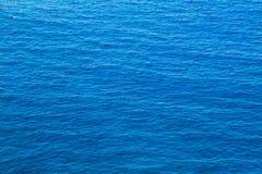 Mar azul profundo Fotografía de archivo libre de regalías