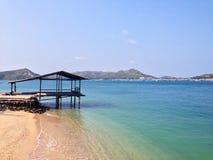 Mar azul Tailândia Imagem de Stock Royalty Free