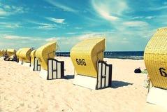 Mar Báltico da praia Foto de Stock