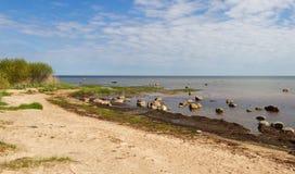 Mar Báltico de pedra Imagens de Stock Royalty Free