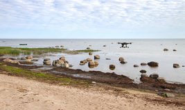 Mar Báltico de pedra Foto de Stock