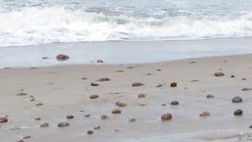 Mar Báltico del invierno almacen de metraje de vídeo
