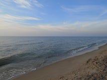 Mar Báltico do beira-mar no oblast de Kaliningrad fotografia de stock