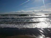 Mar Báltico hermoso en Letonia fotografía de archivo libre de regalías