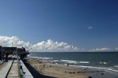Mar Báltico. La playa en Zelenogradsk Fotografía de archivo libre de regalías