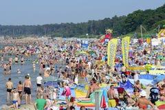 Mar Báltico no dia de verão Imagem de Stock