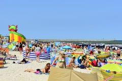 Mar Báltico no dia de verão Imagens de Stock