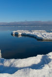Mar Báltico no inverno. imagem de stock royalty free