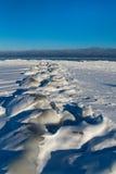 Mar Báltico no inverno. fotografia de stock royalty free