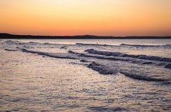 Mar Báltico no Polônia Foto de Stock