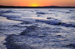 Mar Báltico no Polônia Fotografia de Stock Royalty Free