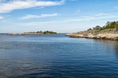 Mar Báltico no verão Imagens de Stock Royalty Free