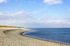 Mar Báltico perto de Gdansk, Polônia Imagem de Stock