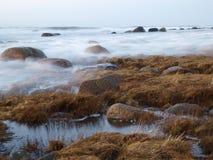 Mar Báltico tormentoso Fotos de Stock