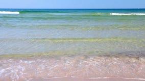 Mar Baltico, giorno soleggiato, Polonia archivi video