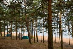 Mar Baltico, il golfo di Finlandia fotografie stock
