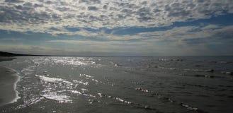 Mar Baltico latvia Jurmala fotografia stock libera da diritti