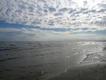 Mar Baltico latvia Jurmala immagine stock libera da diritti