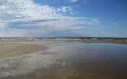 Mar Baltico latvia Jurmala fotografie stock libere da diritti