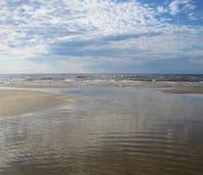 Mar Baltico latvia Jurmala immagine stock