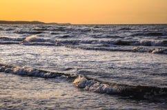 Mar Baltico in Polonia Fotografia Stock Libera da Diritti