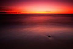 Mar Baltico rosso Fotografia Stock Libera da Diritti