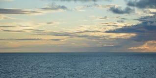 Mar Baltico vicino all'Estonia Fotografie Stock Libere da Diritti