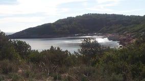 Mar. Beach eivissa ibiza mediterraneo royalty free stock photo