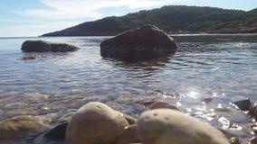 Mar. Beach eivissa ibiza mediterraneo stock images