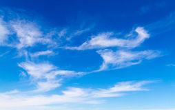 Mar blanco del cielo Imagen de archivo libre de regalías